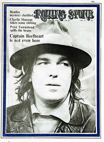 Captain beefheart is not even here…