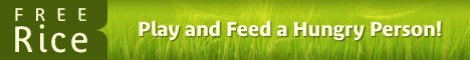 For each word you get right, we donate 20 grains of rice