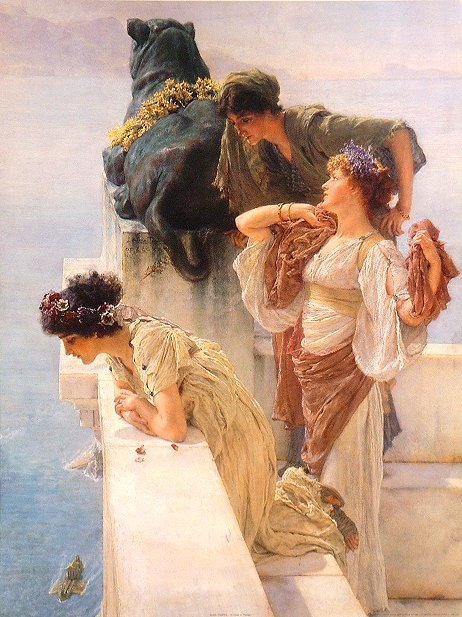 Sir Lawrence Alma-Tadema's perving gurls