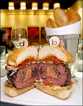 a real complex and interesting burger