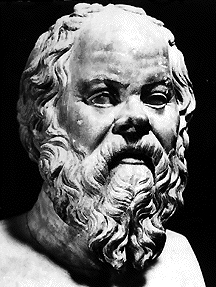 Socrates - tried, condemned to death, and executed in 399 BC