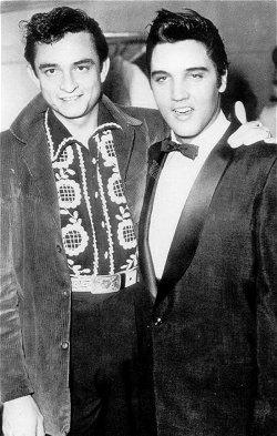 The King and Johnny Cash